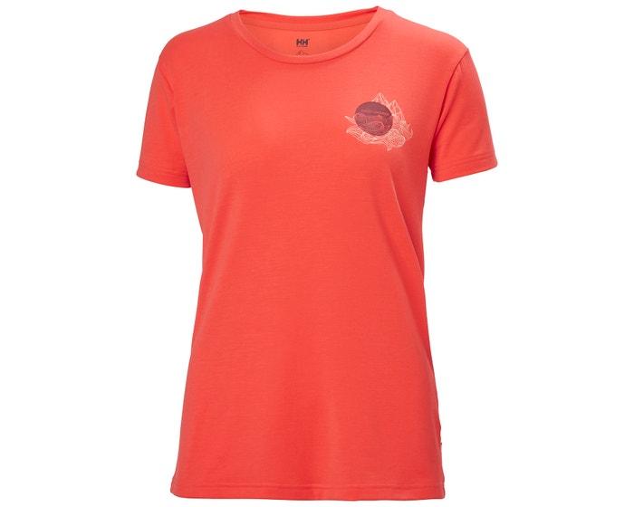 Helly Hansen W Skog Recycled Graphic T-Shirt