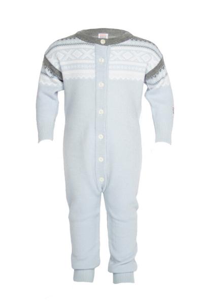 Marius Kids Wool Playsuite Baby Blue