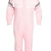 Marius Kids Wool Playsuite Lotus Pink