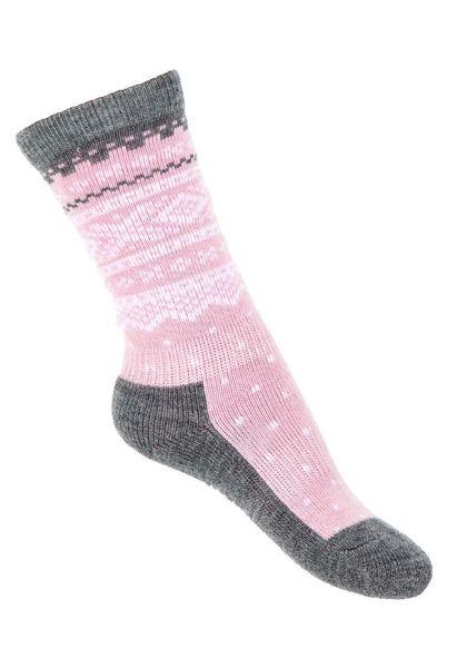 Marius Kids Wool Socks Lotus Pink