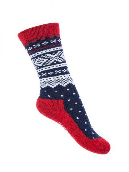 Marius Kids Wool Socks Navy
