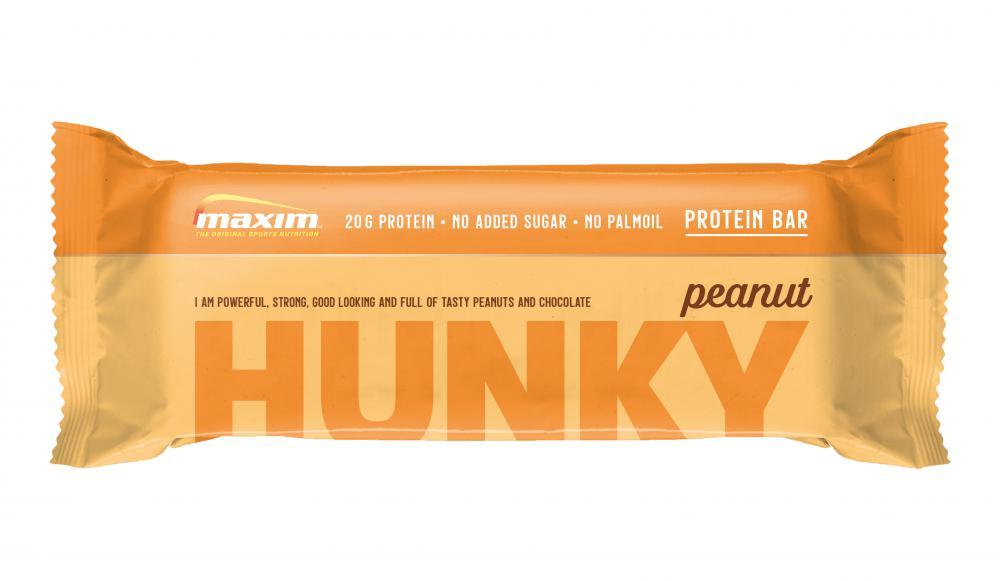 Maxim  Maxim Hunky Peanut proteinbar 55g