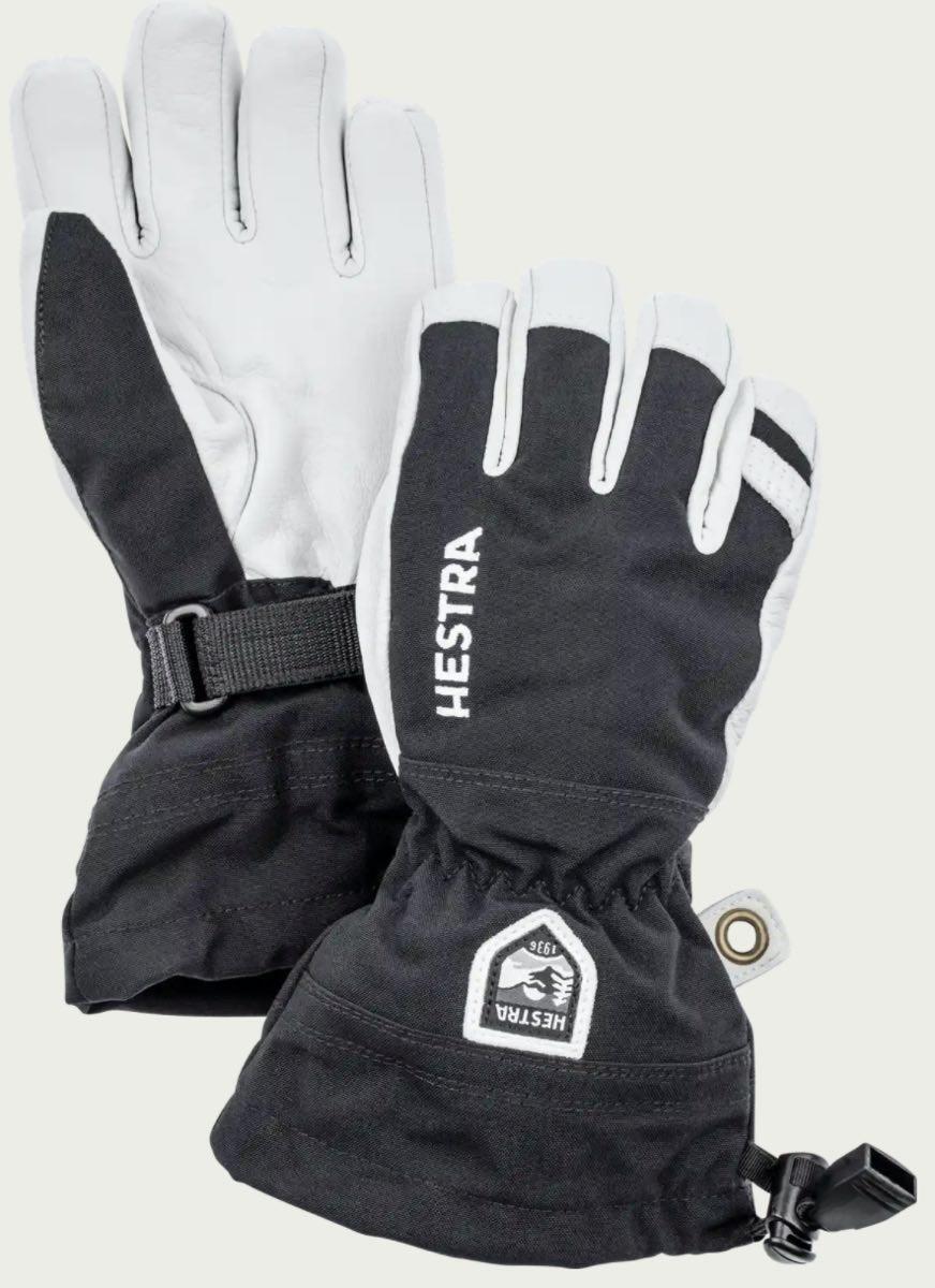 Hestra  Army Leather Heli Ski Jr. - 5 f
