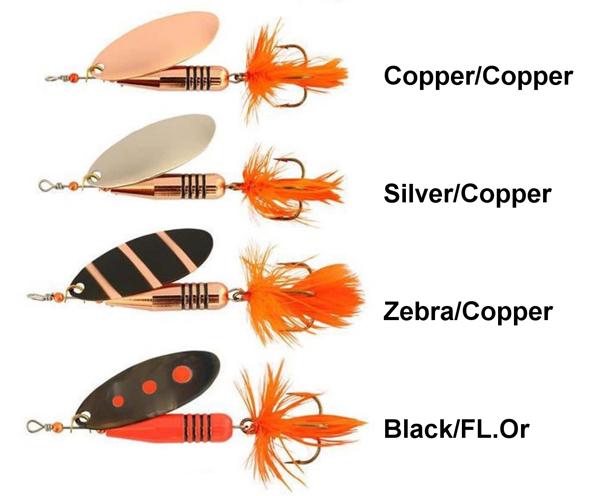 Abu Garcia  Zixten Spinner 7g - Copper/Copper