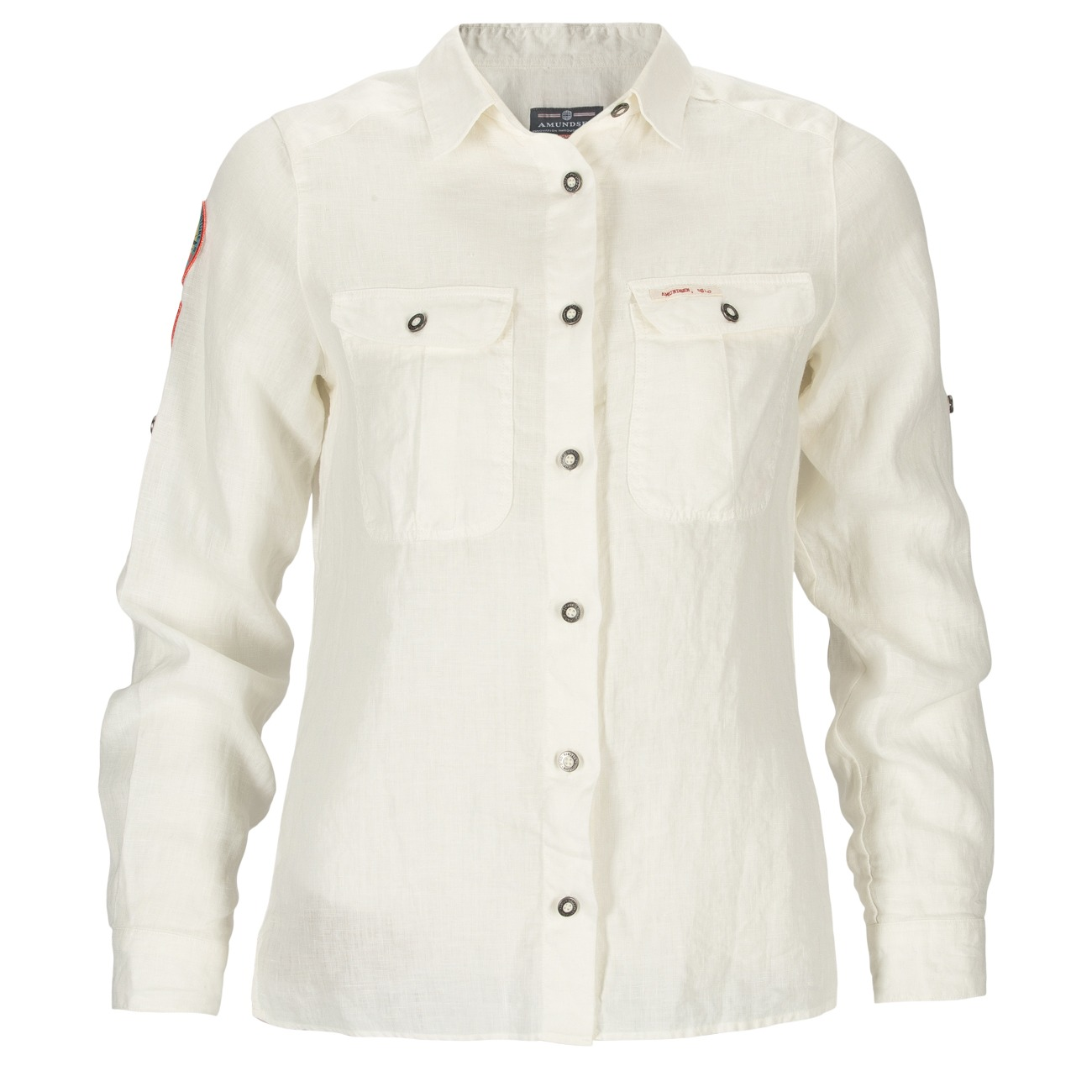 Amundsen Safari Linen Shirt Womens