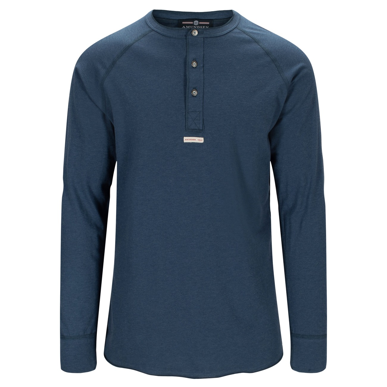 Amundsen Summer Wool Henley Mens