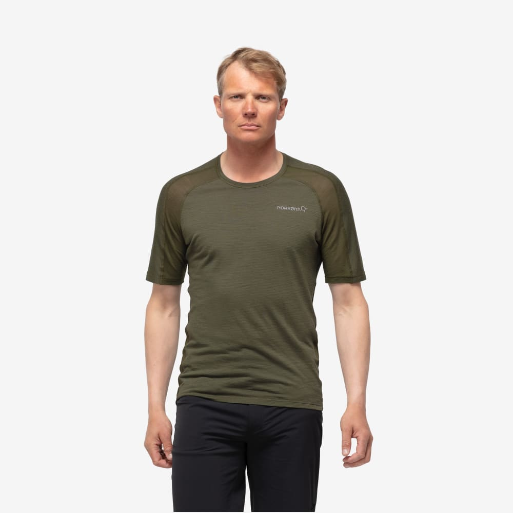 Norrøna Bitihorn wool t-shirt Men