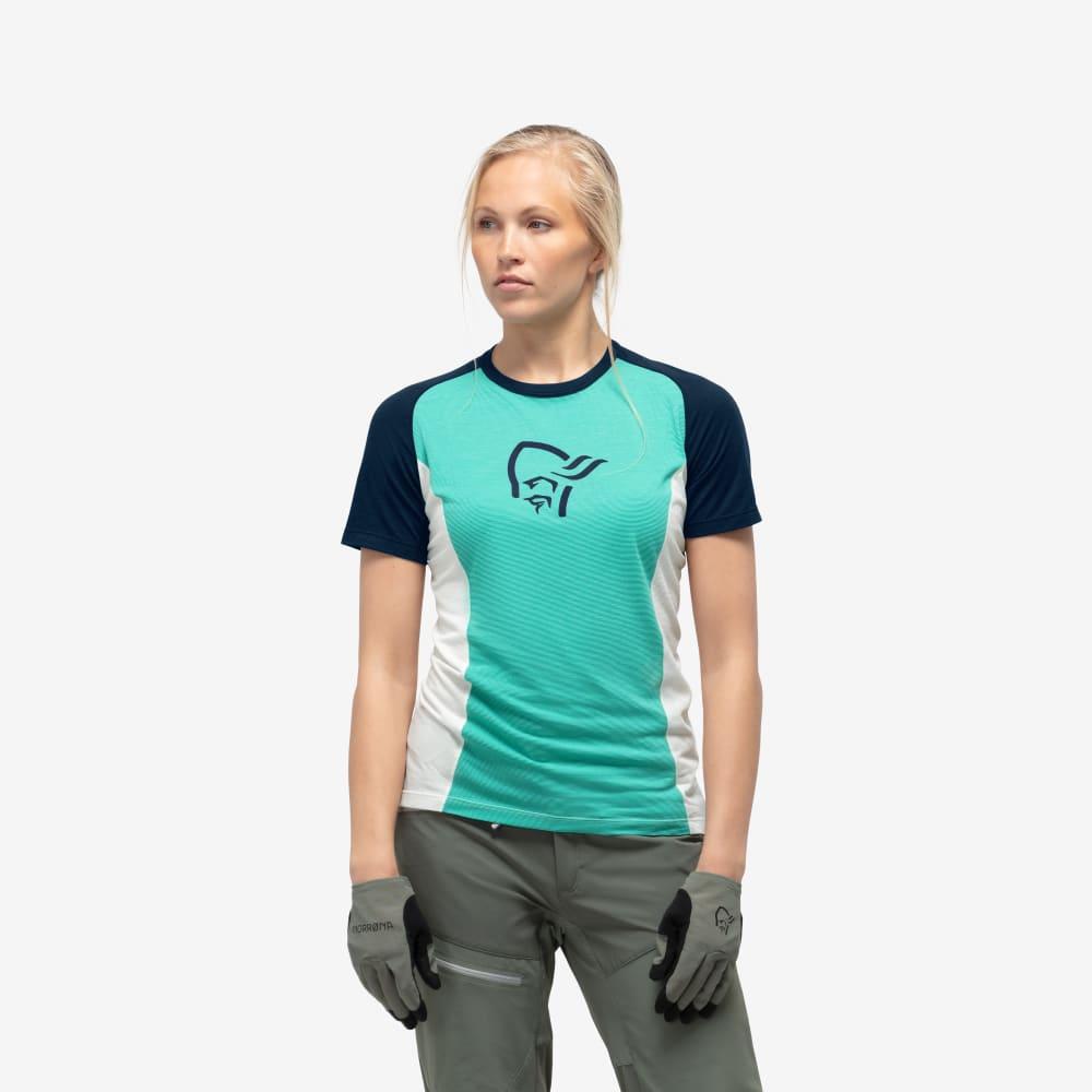 Norrøna Fjørå Wool T-Shirt Dame