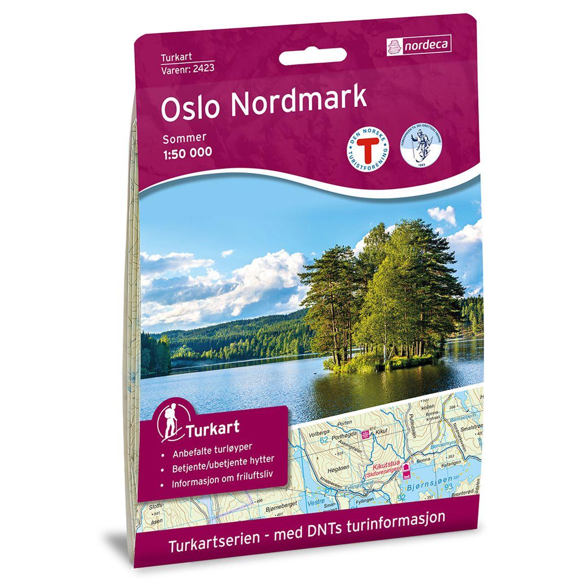 Nordeca  Oslo Nordmark sommer DNT Turkart