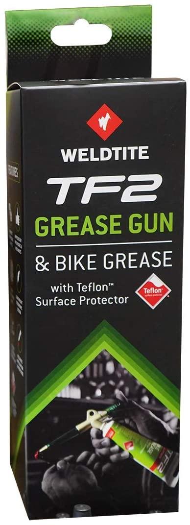Weldtite  TF2 Grease Gun & Bike Grease w/teflon