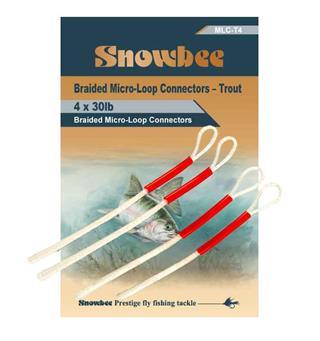 Snowbee  Micro-Loop Trout 20 Lbs    4 pcs