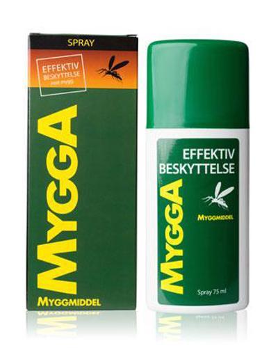 Mygga  Myggmelk Spray mot Mygg 75 ml