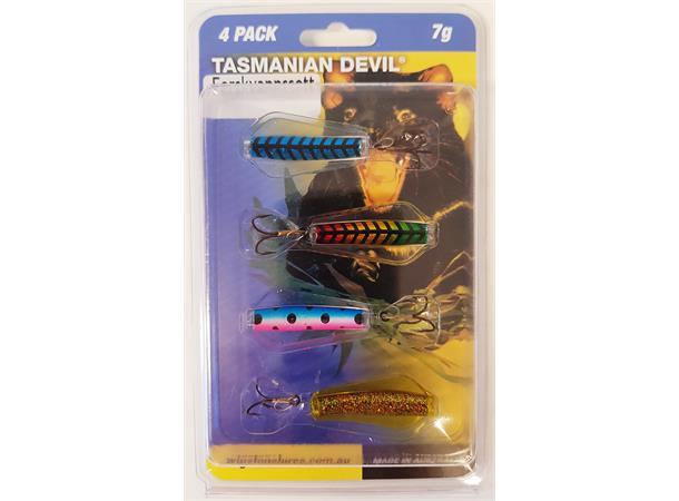 Tasmanian Devil 4pk Ferskvannssett 7 gram