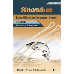 Snowbee  Micro-Loop Jumbo 50 lb 3 pcs