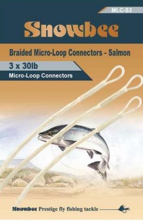 Snowbee  Micro-Loop Salmon 30 Lbs 3 pcs