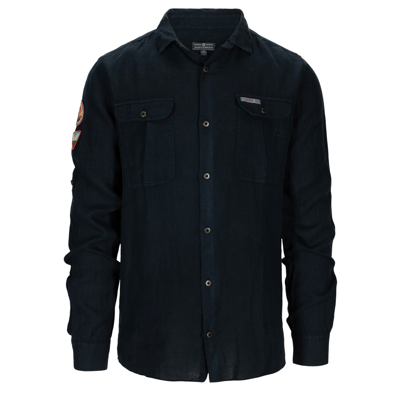 Amundsen Safari Linen Shirt men