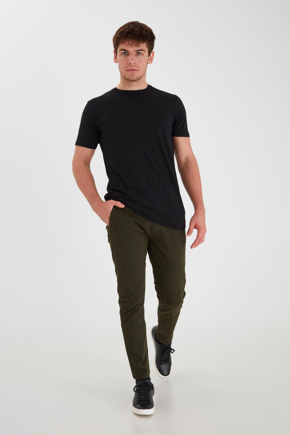 FREDERIC CHINOS GREEN - TAILORED