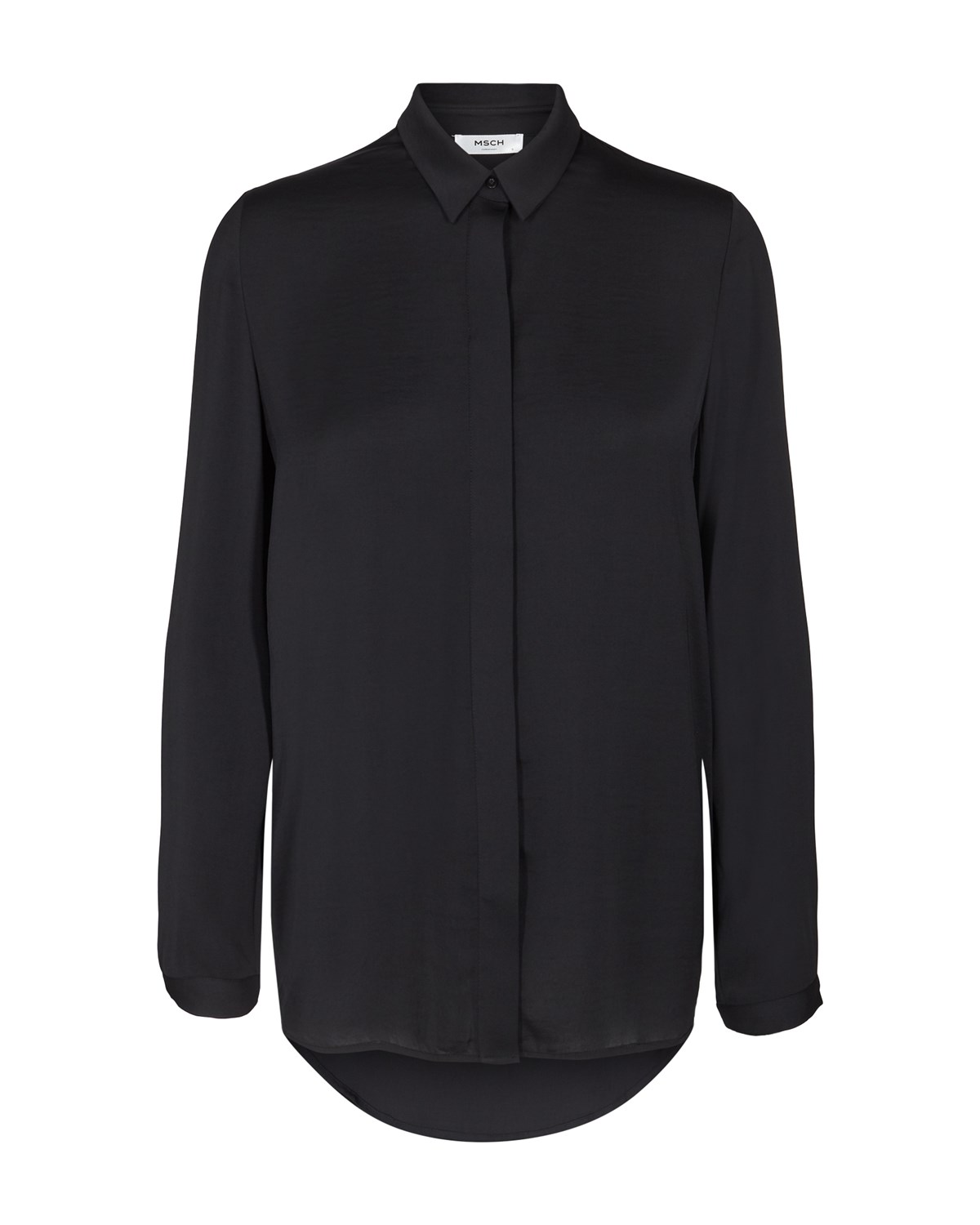 BLAIR BLOUSE BLACK - MOSS COPENHAGEN