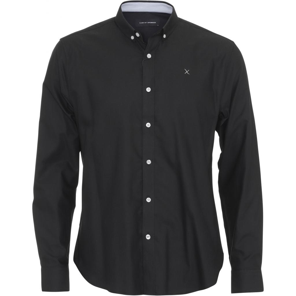OXFORD SHIRT BLACK - CLEAN CUT