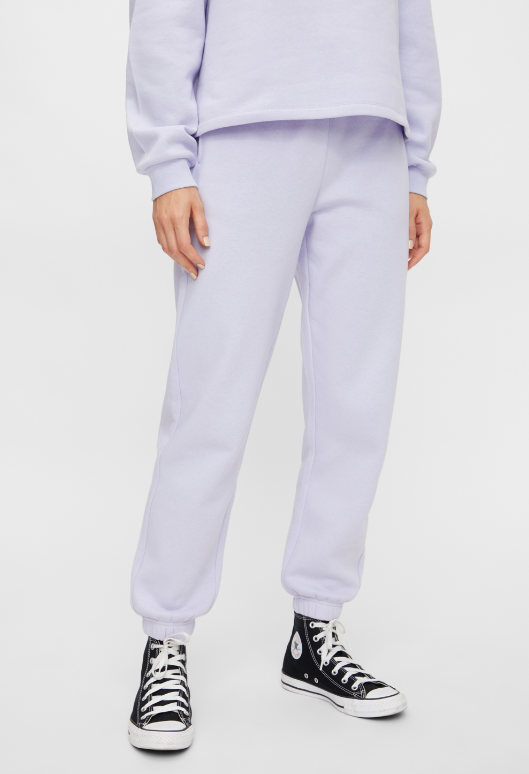 CHILLI SWEAT PANT PURPLE HEATHER - PIECES