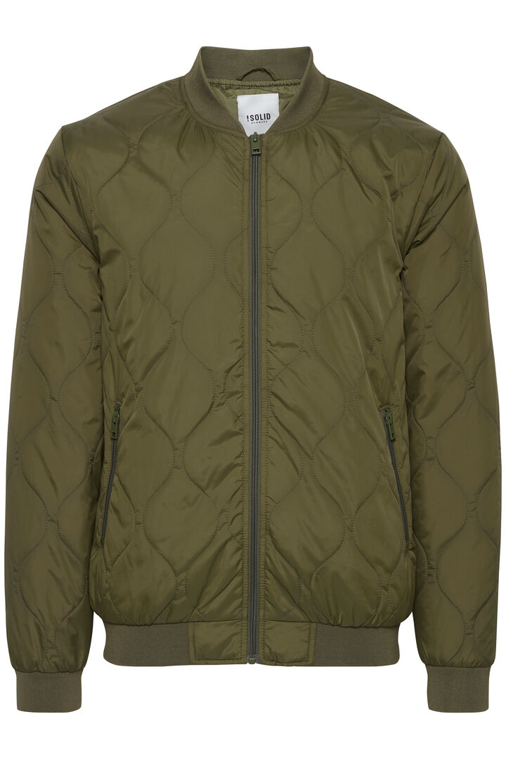 PERRY JACKET IVY GREEN - SOLID