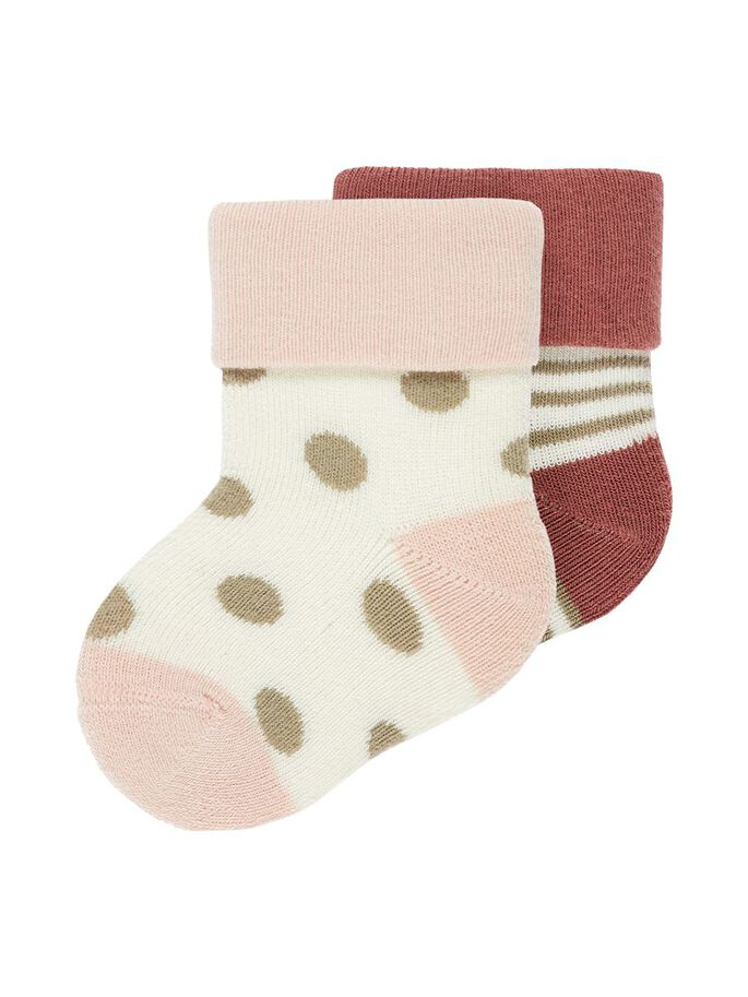 TERRY FROTE 2PK SOCK - NAME IT