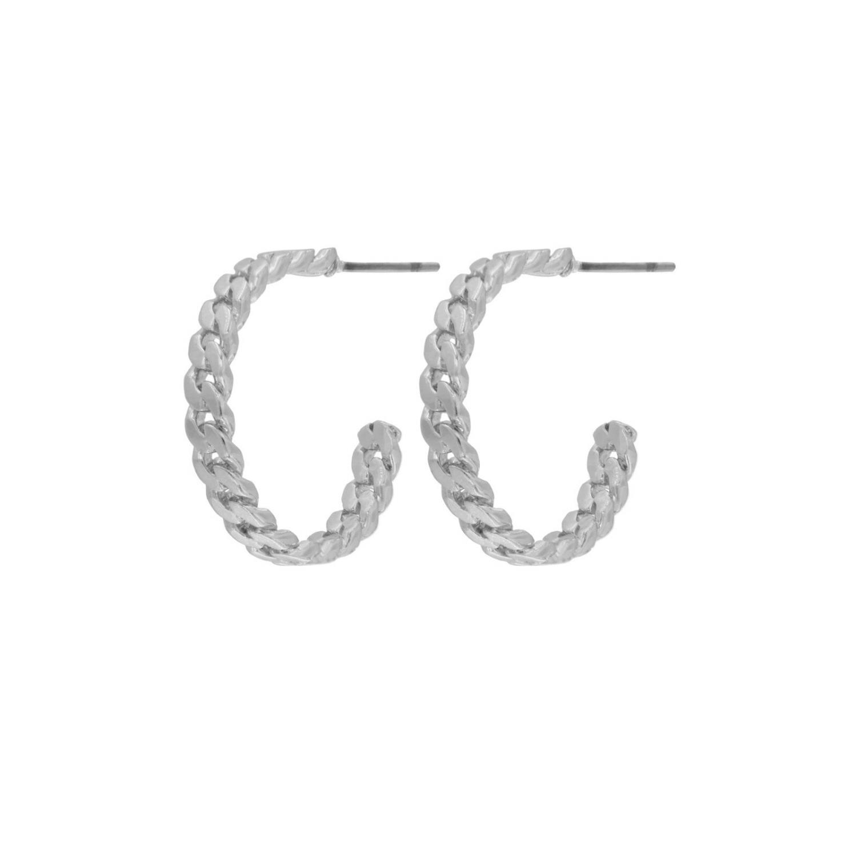 INFINITY SIMPEL HOOP GULL OG SØLV - DNSK(121)