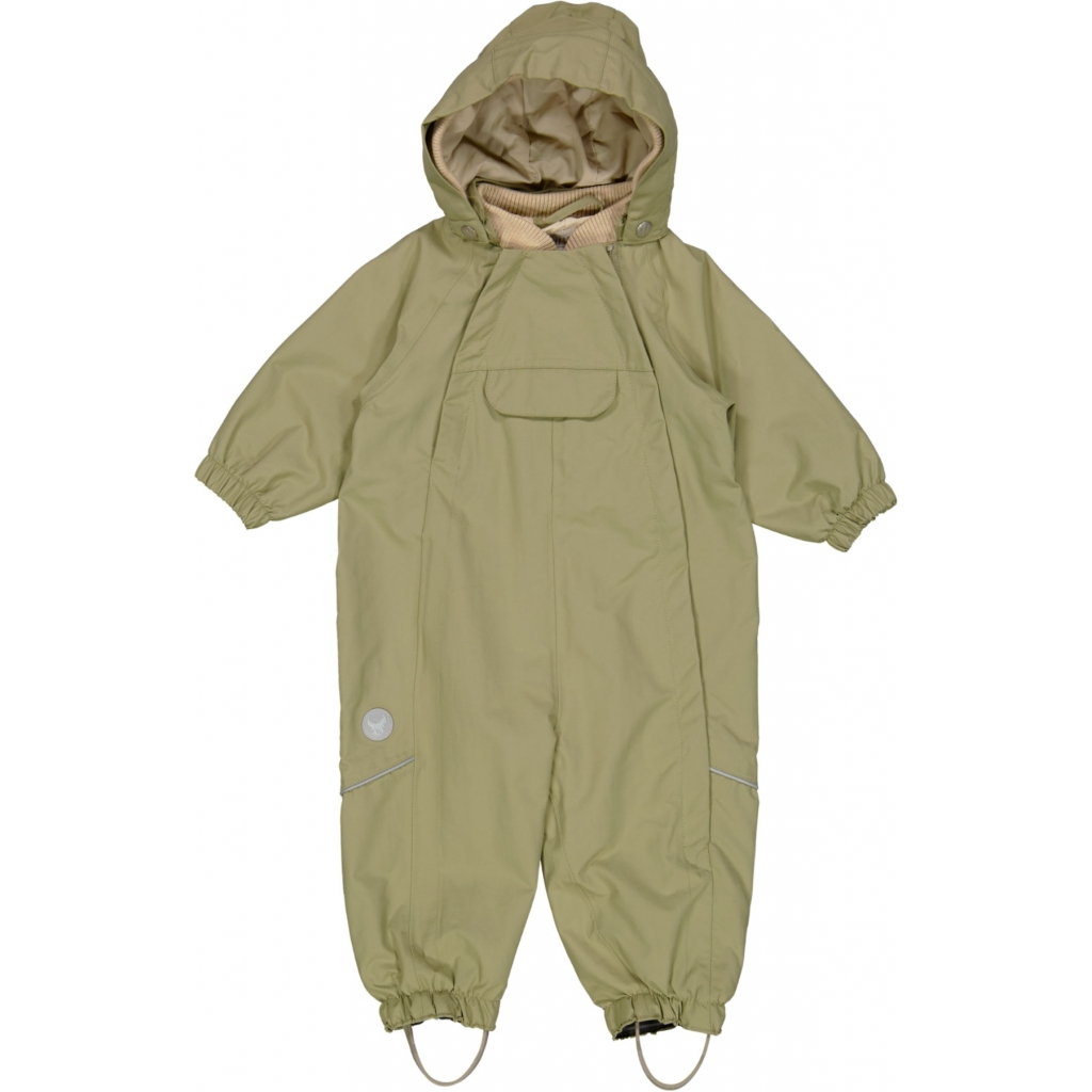 OLLY TECH OUTDOOR SUIT DUSTY GREEN - WHEAT