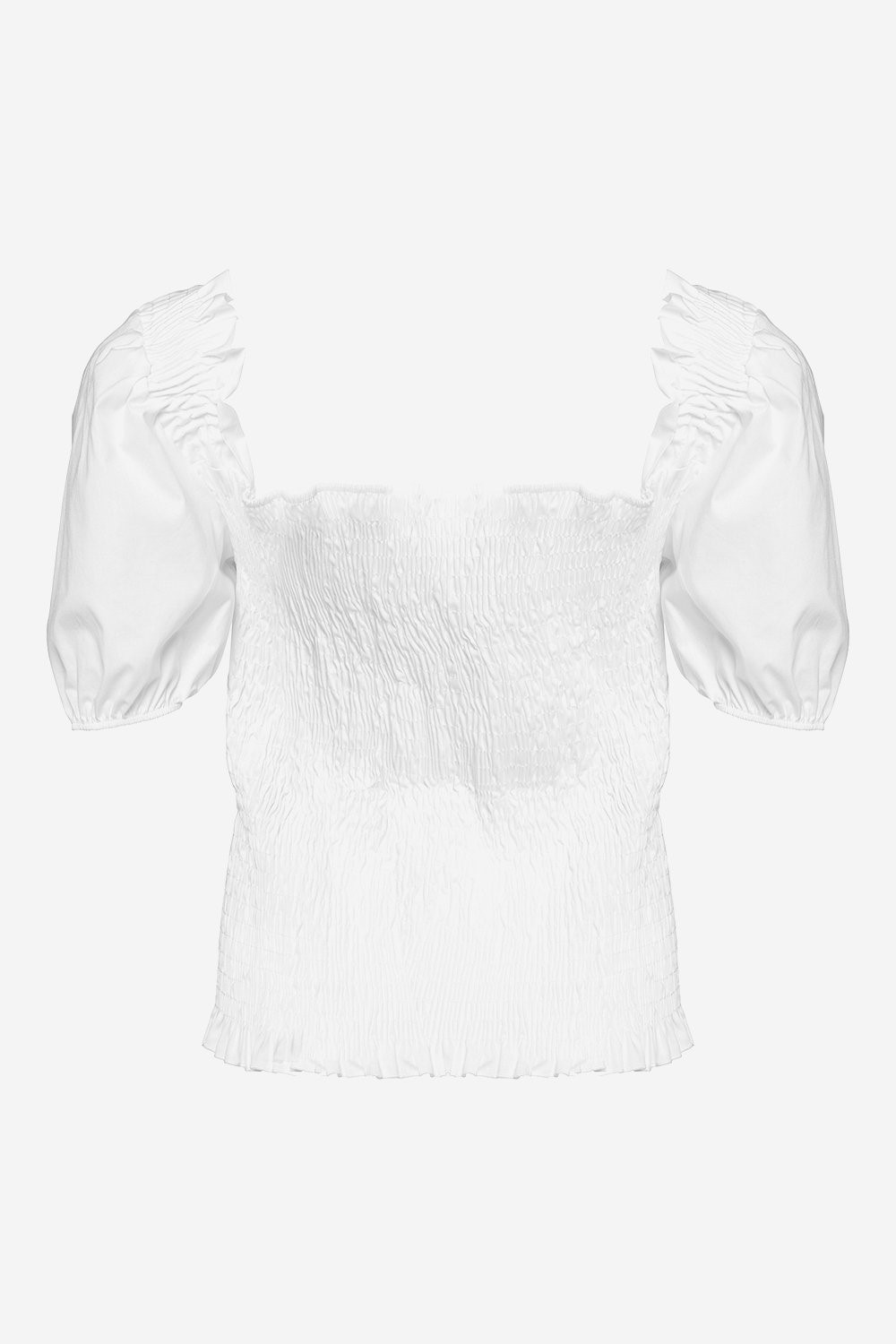 BODY BLOUSE WHITE - NOELLA