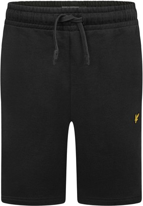 CLASSIC SWEAT SHORTS BLACK- LYLE & SCOTT