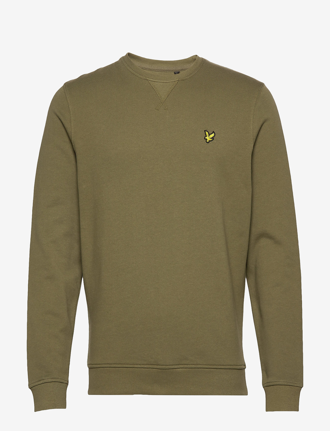 CLASSIC CREWNECK Oil Green - LYLE & SCOTT