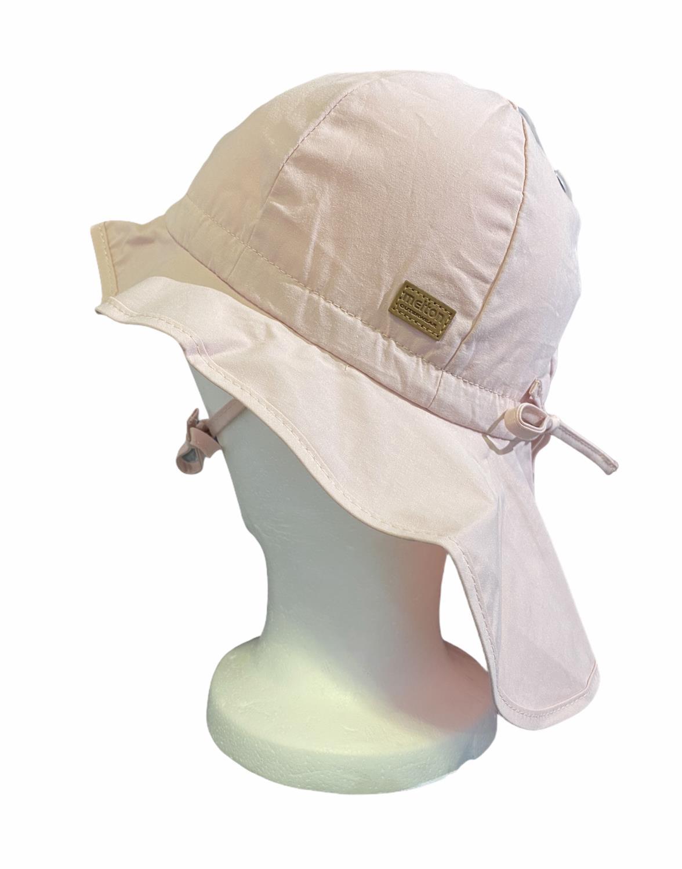 HAT W/ NECK ROSE - MELTON