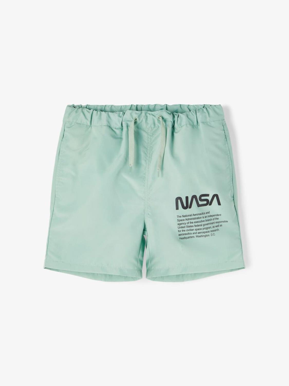 NASA RASMUS SWIM SHORTS BLUE SURF - LMTD