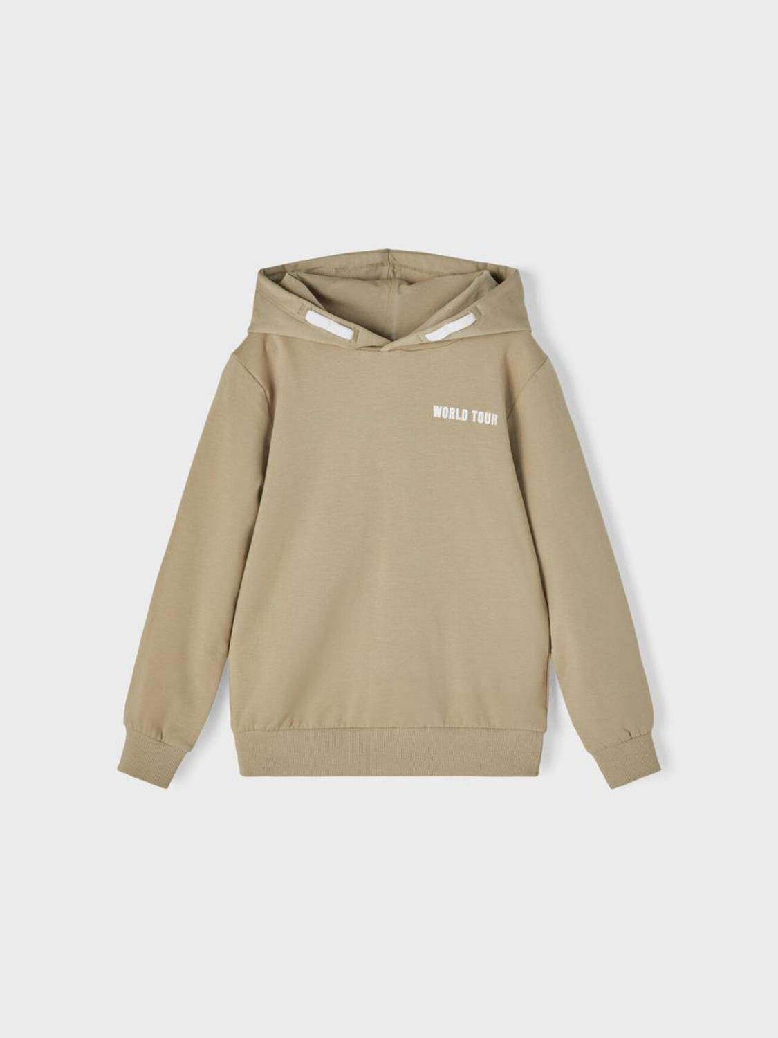 HORALLO SWEAT HOODIE SILVER SAGE - NAME IT
