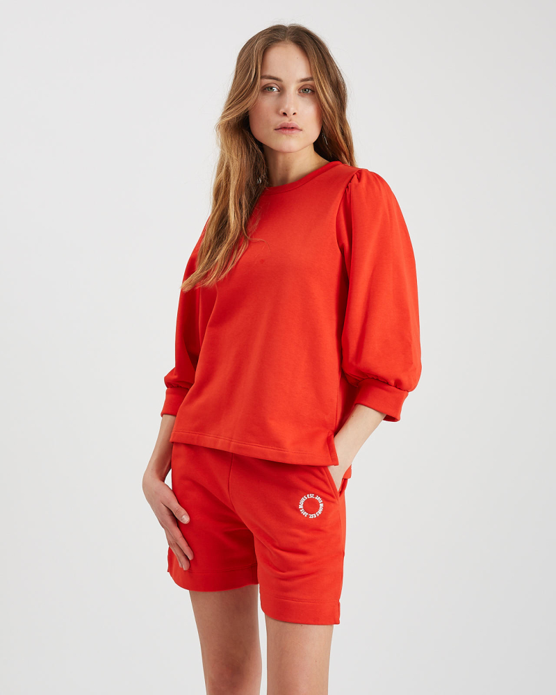 JOLUNA SWEATSHIRT FIERY RED - MOVES BY MINIMUM