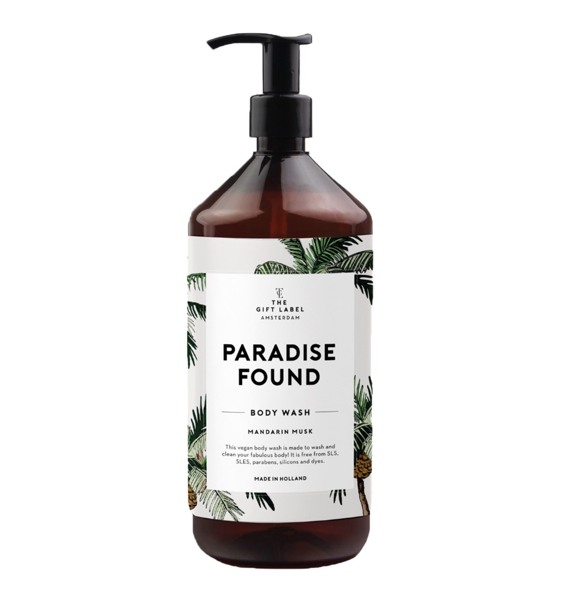 "BODY WASH ""PARADISE FOUND"" - THE GIFT LABEL"