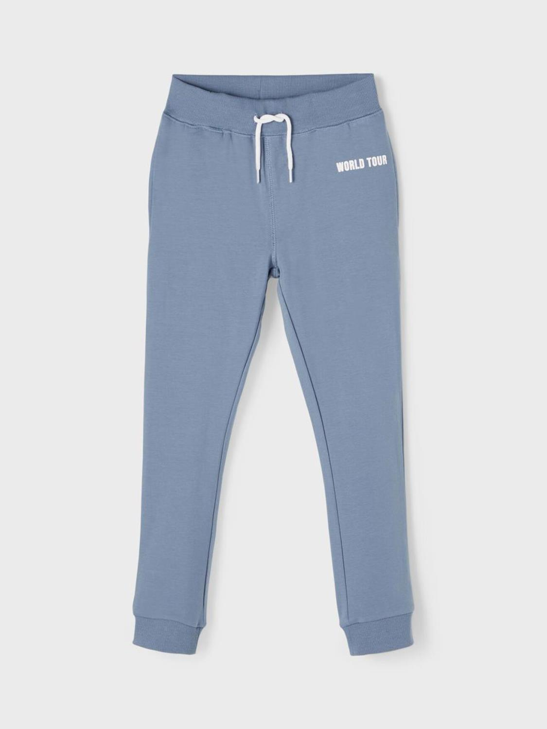 HORALLO SWEAT PANT CHINA BLUE - NAME IT