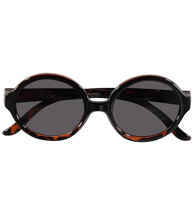 SUNGLASSES WITH RACK BONE BROWN ROUND - NAME IT
