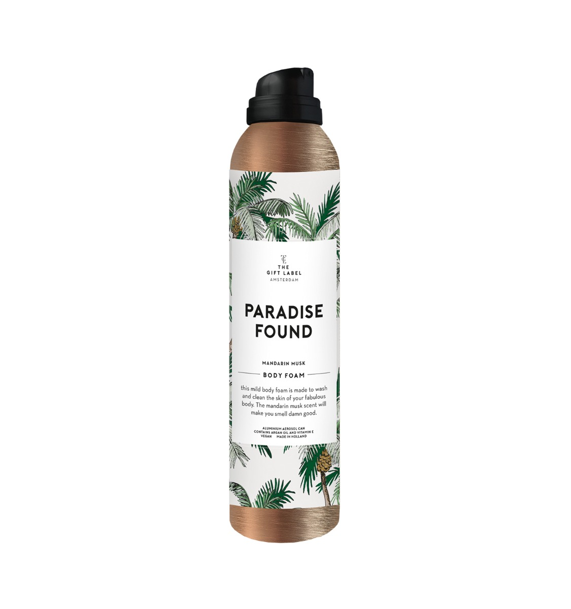 "BODY FOAM WOMAN ""PARADISE FOUND"" - THE GIFT LABEL"