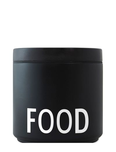 THERMO LUNCH BOX BLACK - DESIGNLETTERS