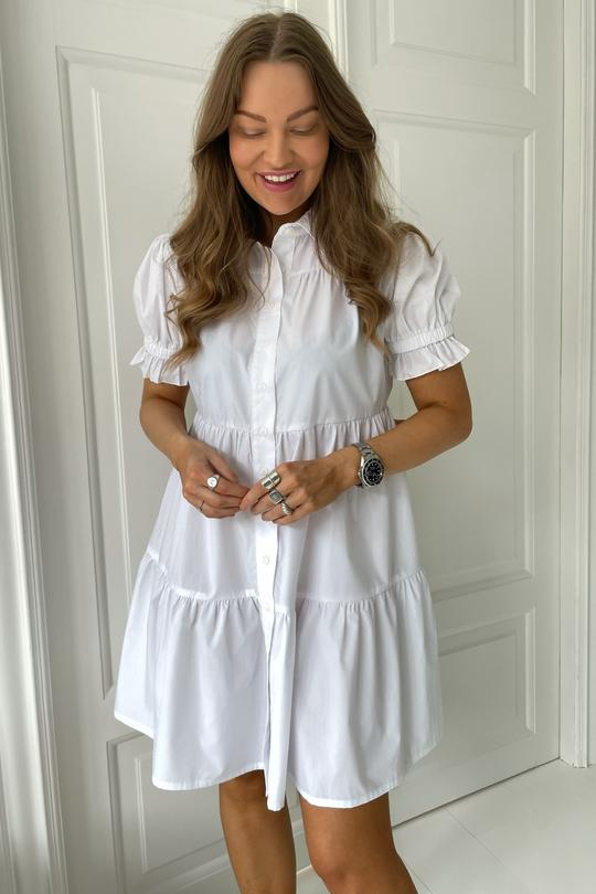 ASTA DRESS WHITE - BYIC