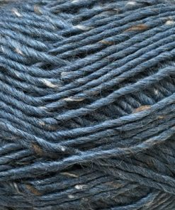 Lama-Tweed CaMaRose 6456 - Blå