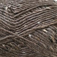 Lama-Tweed CaMaRose 6450 - Lysebrun