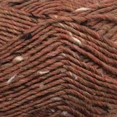 Lama-Tweed CaMaRose 6412 - Kastanjebrun