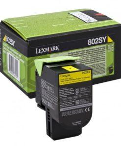 Lexmark 80C2SY0 yellow standard Toner