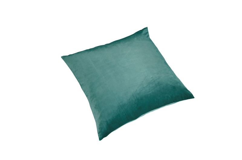 Pute Velour Light Sea Green