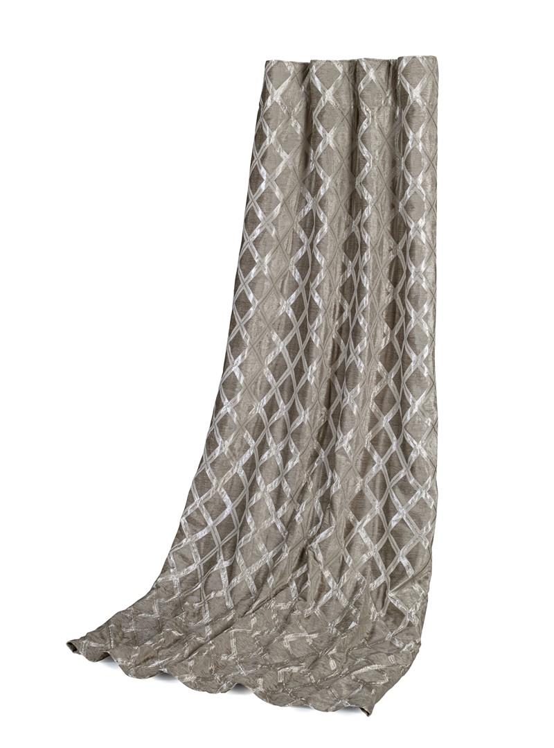 Gardinhøyde  Austen Silver