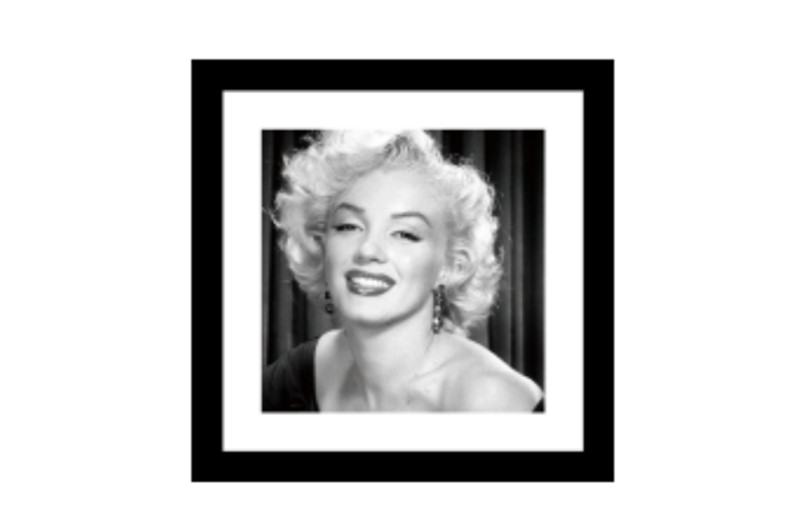 Glass picture w/frame Marilyn Monroe no.3