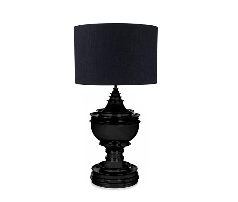 Bordlampe Spring Hill Matt Black