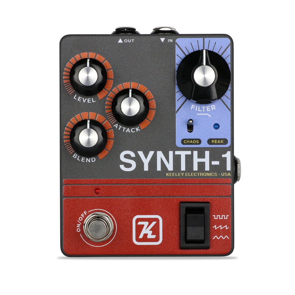 Keeley Synth-1 Reverse Attack Fuzz Wave Generator pedal